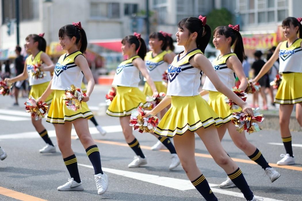 ひたちなか祭り <3> 常磐大学高等学校チアリーディング部 2019・08・18_e0143883_16585611.jpg