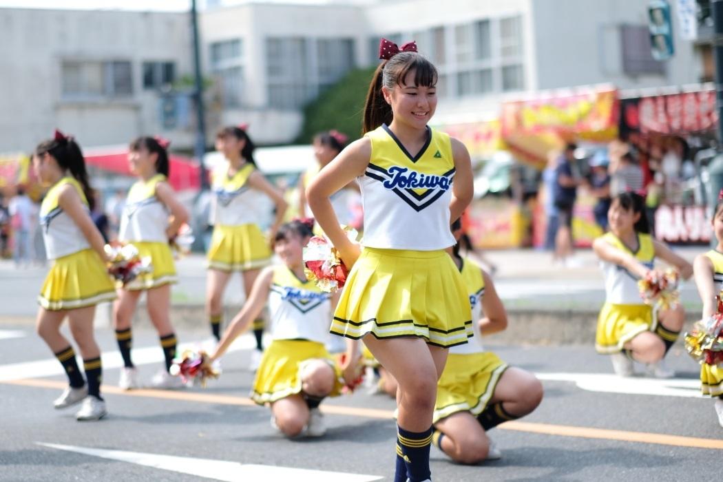 ひたちなか祭り <3> 常磐大学高等学校チアリーディング部 2019・08・18_e0143883_16595975.jpg
