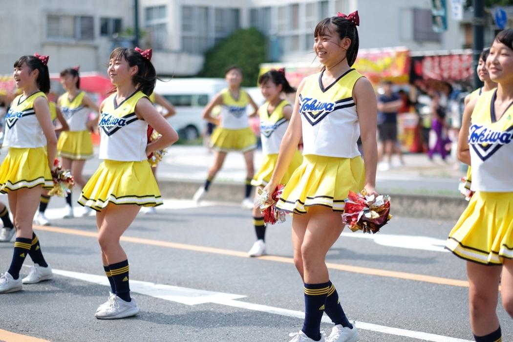 ひたちなか祭り <3> 常磐大学高等学校チアリーディング部 2019・08・18_e0143883_17003614.jpg