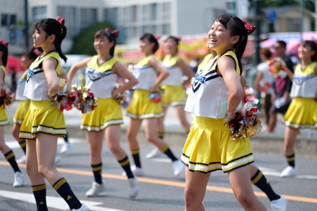 ひたちなか祭り <3> 常磐大学高等学校チアリーディング部 2019・08・18_e0143883_17012859.jpg