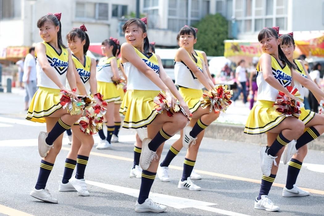 ひたちなか祭り <3> 常磐大学高等学校チアリーディング部 2019・08・18_e0143883_17091674.jpg