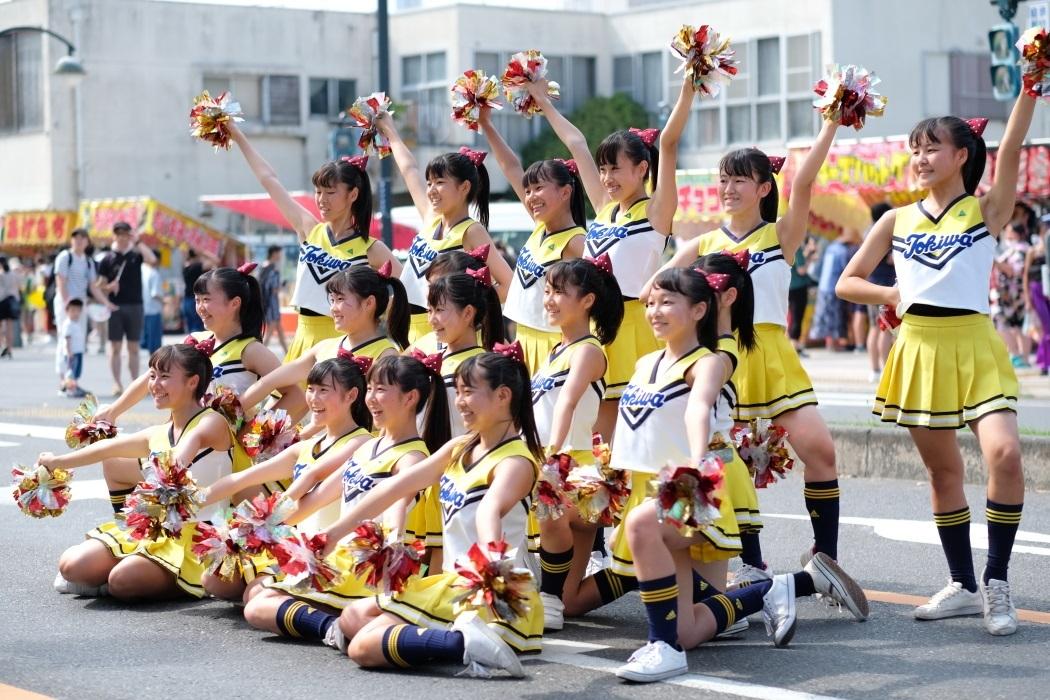 ひたちなか祭り <3> 常磐大学高等学校チアリーディング部 2019・08・18_e0143883_17113226.jpg