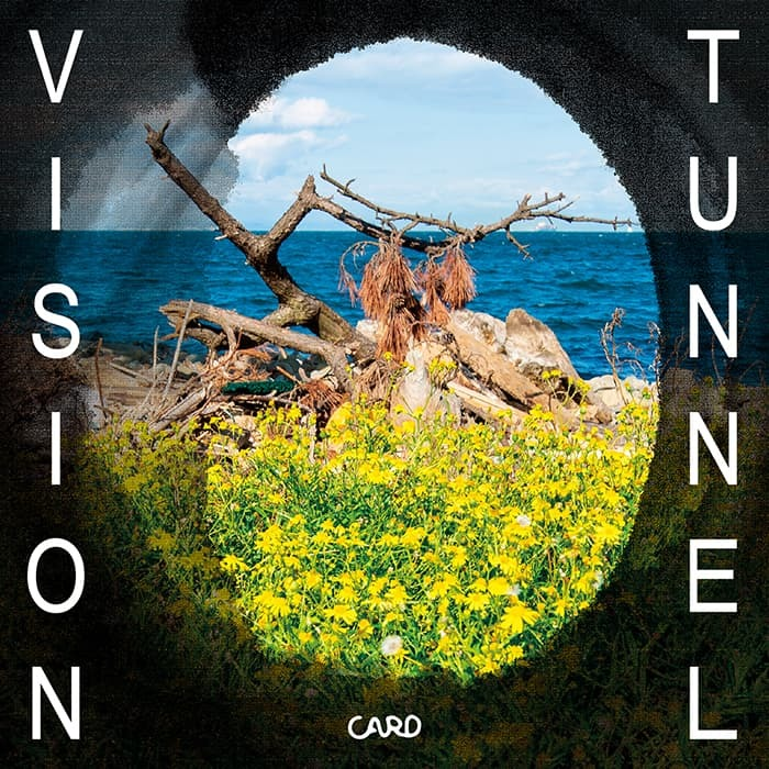 CARD / TUNNEL VISION / CD(FLAKES-223) / 2019.9.25 Release_a0087389_12421309.jpg