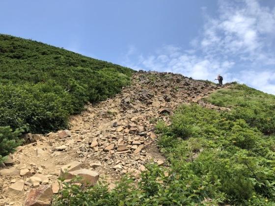 百名山!斜里岳に行ってきました_d0198793_15280755.jpg
