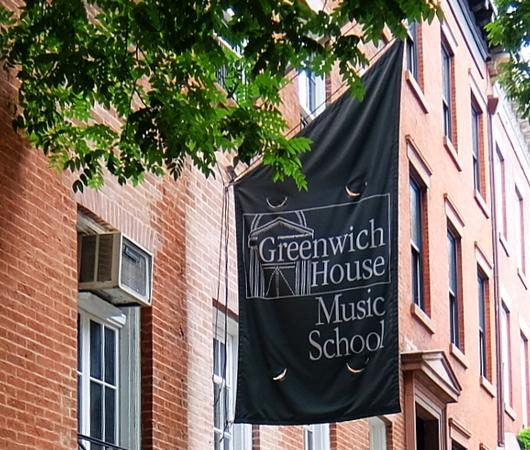 グリニッジ・ビレッジの住宅街に100年超の歴史ある音楽学校、Greenwich House Music School_b0007805_01534733.jpg