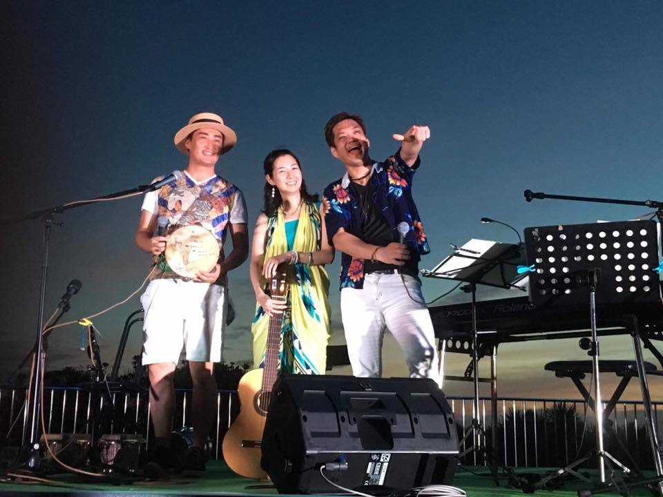 【レポート◉夕陽と海の音楽会】5年目。3日目をプロデュース、LIVE演奏、DJ #ブラジル #江ノ島 #シーキャンドル_b0032617_22555025.jpg