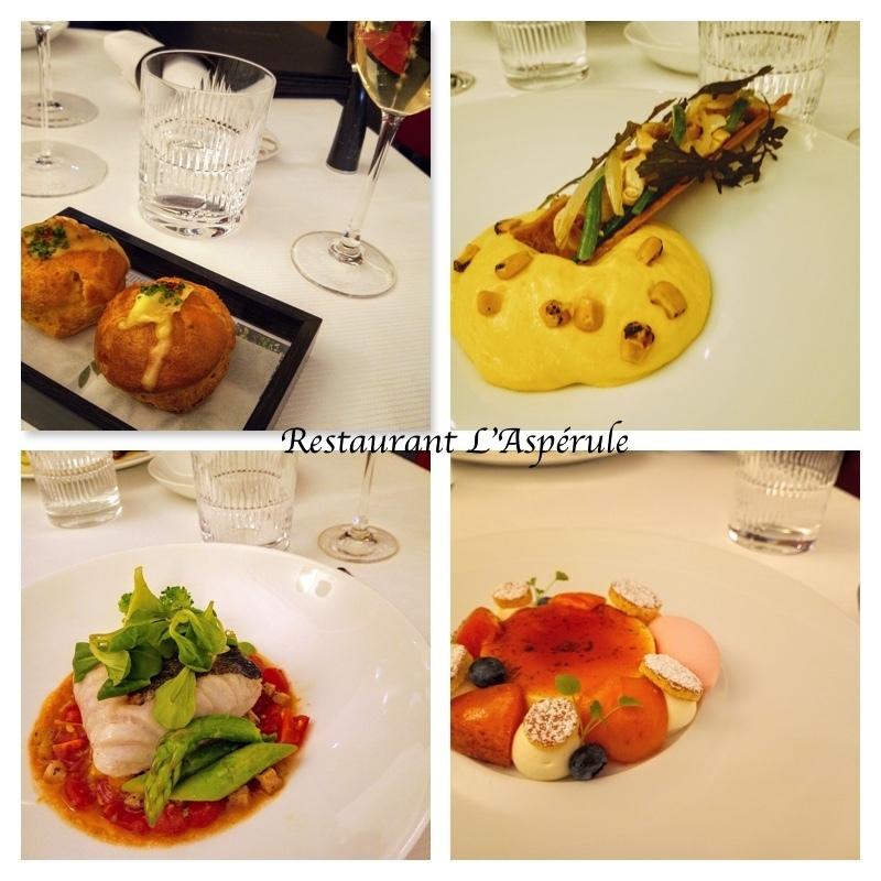 レストラン ラスペリュール Restaurant L\'Aspérule_e0243221_05174054.jpg