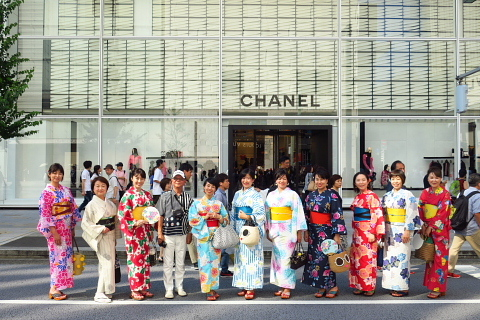 衣服は人生の設計図。靖国神社~銀座~横浜、歩コムの2日間。_d0046025_23524390.jpg