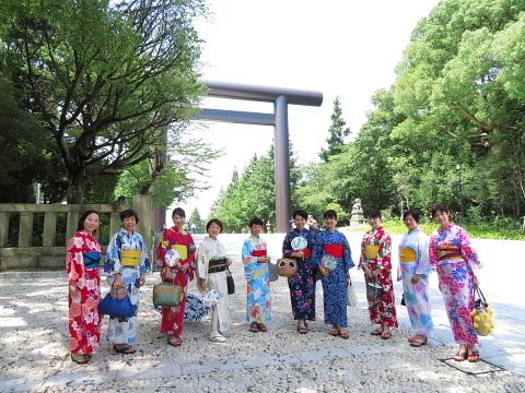 衣服は人生の設計図。靖国神社~銀座~横浜、歩コムの2日間。_d0046025_23531542.jpg