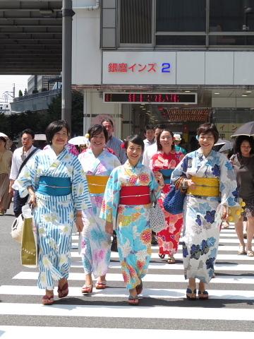 衣服は人生の設計図。靖国神社~銀座~横浜、歩コムの2日間。_d0046025_23532822.jpg