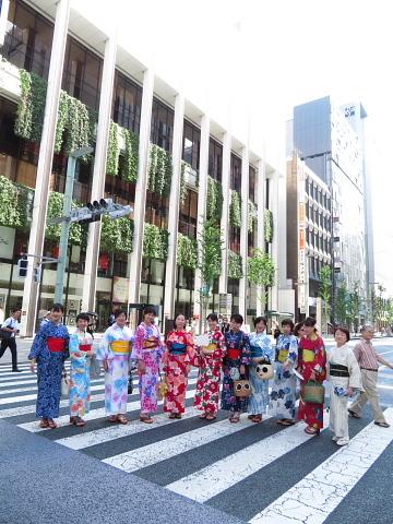 衣服は人生の設計図。靖国神社~銀座~横浜、歩コムの2日間。_d0046025_23541699.jpg