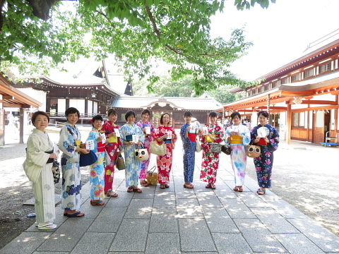 衣服は人生の設計図。靖国神社~銀座~横浜、歩コムの2日間。_d0046025_23545780.jpg