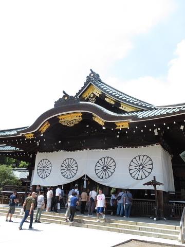 衣服は人生の設計図。靖国神社~銀座~横浜、歩コムの2日間。_d0046025_23575511.jpg