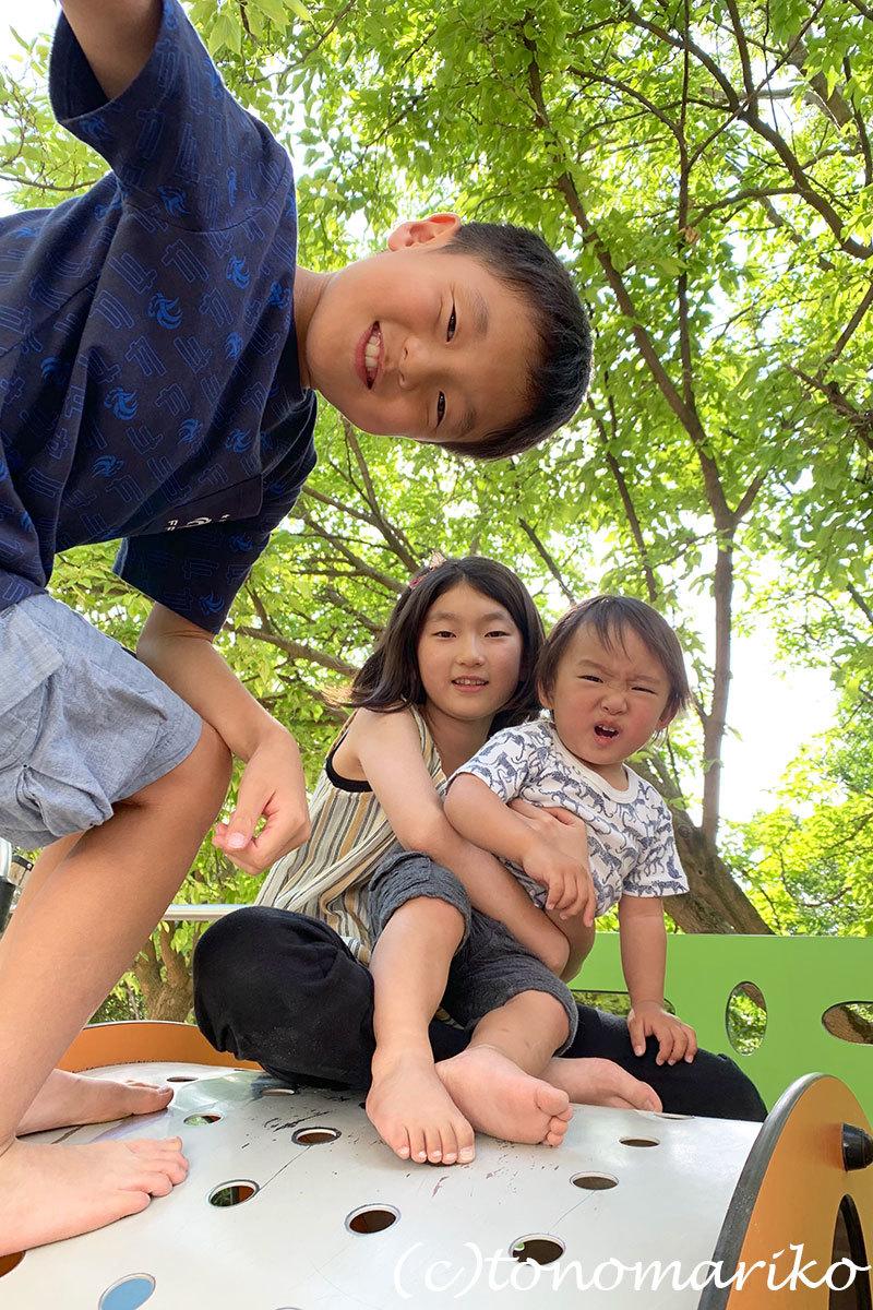 パリの公園は子供たちのパラダイス♪_c0024345_20351697.jpg