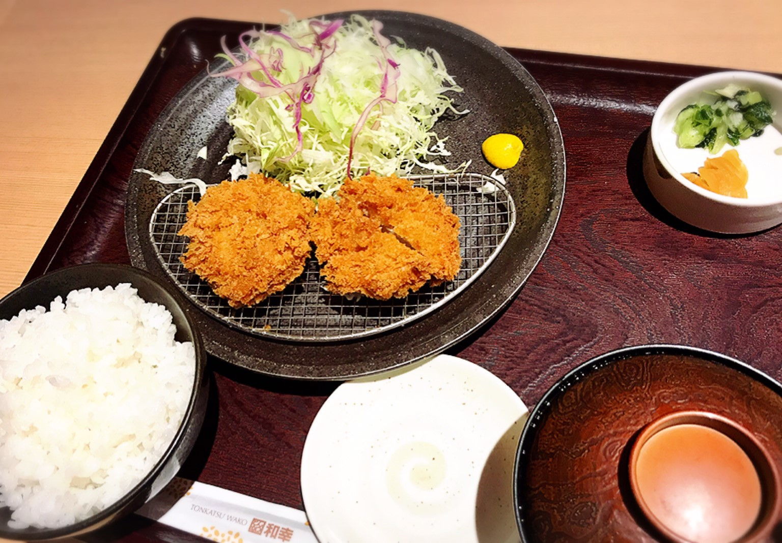 とんかつ和幸/札幌市 東区_c0378174_16424147.jpg