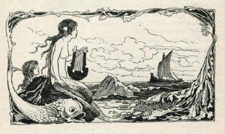 Warwick Goble画の人魚_c0084183_11305771.jpg
