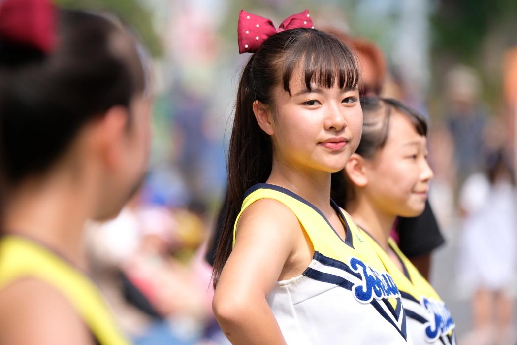 ひたちなか祭り <4> 常磐大学高等学校チアリーディング部⓶ 2019・08・18_e0143883_04565982.jpg