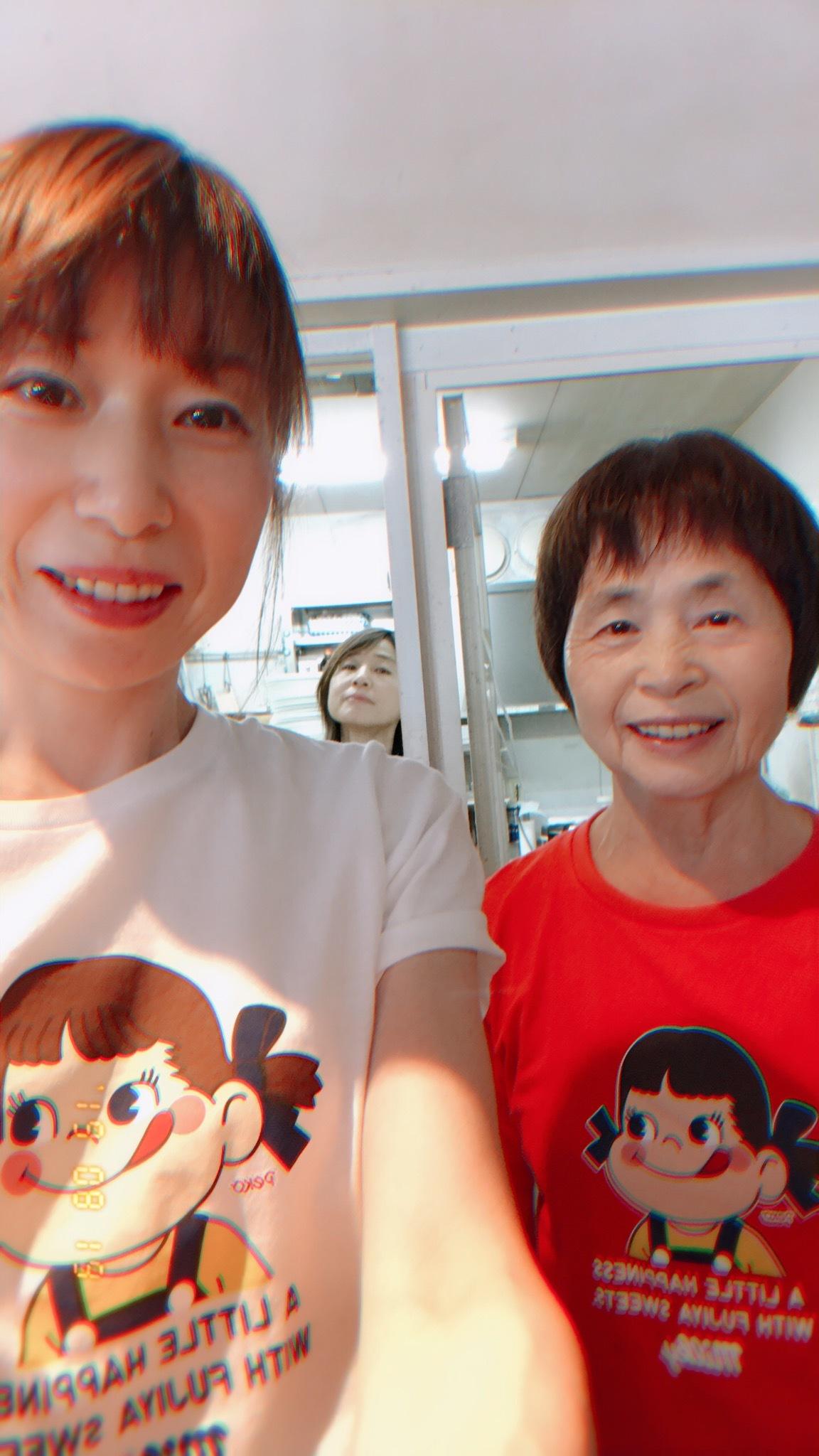 サチ子の、お気に入りのTシャツ 「ペコちゃん」_c0128487_20440438.jpeg