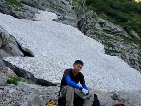 剱岳 チンネ左稜線・八ツ峰上半部_d0237801_21454510.jpg