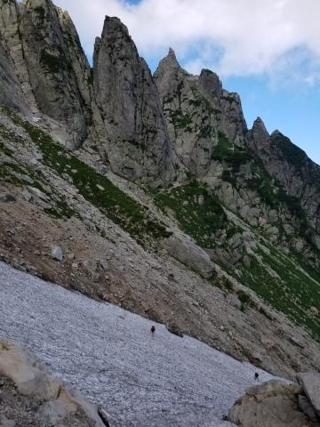 剱岳 チンネ左稜線・八ツ峰上半部_d0237801_21472895.jpg