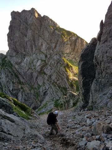 剱岳 チンネ左稜線・八ツ峰上半部_d0237801_21502795.jpg