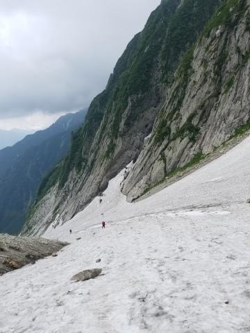 剱岳 チンネ左稜線・八ツ峰上半部_d0237801_22435710.jpg