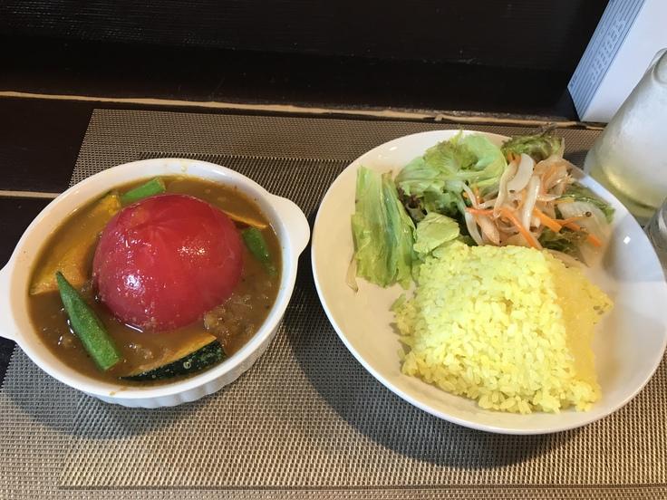 完熟トマトの丸ごとカレー@これく亭(八王子) - よく飲むオバチャン☆本日のメニュー