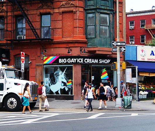 ビッグ・ゲイ・アイスクリーム・ショップ(Big Gay Ice Cream Shop)、グリニッジ・ビレッジ店_b0007805_01470249.jpg