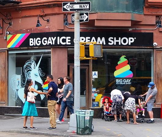 ビッグ・ゲイ・アイスクリーム・ショップ(Big Gay Ice Cream Shop)、グリニッジ・ビレッジ店_b0007805_02022453.jpg