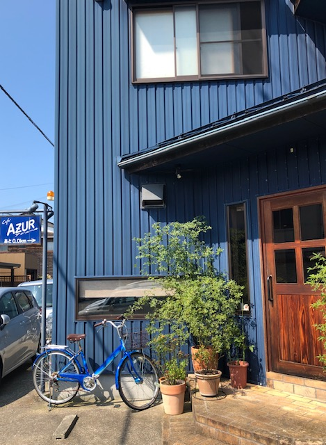 cafe AZUR カフェ アジュール!_a0161408_2191620.jpg