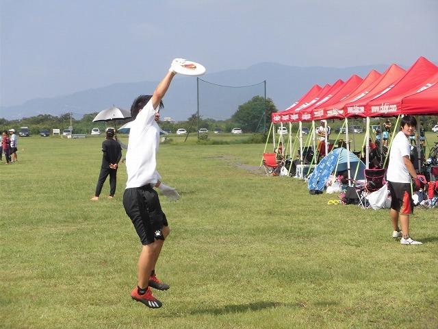うだる暑さの中、第4回 アルティメット静岡県大会_f0141310_06533082.jpg