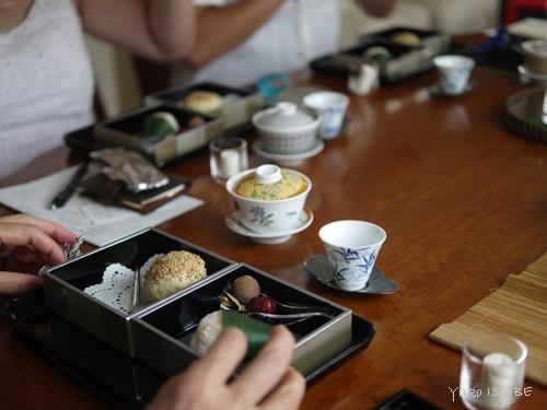 中国茶五種のみ比べのお客さまをお迎えしました。_a0169924_15370101.jpg