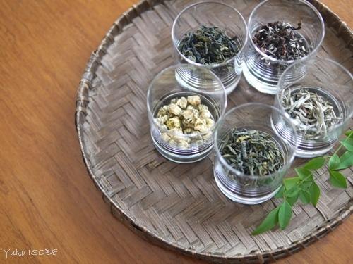中国茶五種のみ比べのお客さまをお迎えしました。_a0169924_15380293.jpg