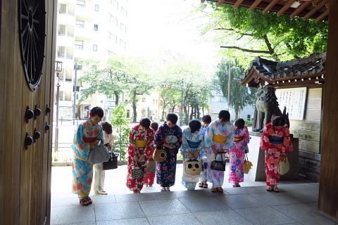 衣服は人生の設計図。靖国神社~銀座~横浜、歩コムの2日間。_d0046025_00013938.jpg