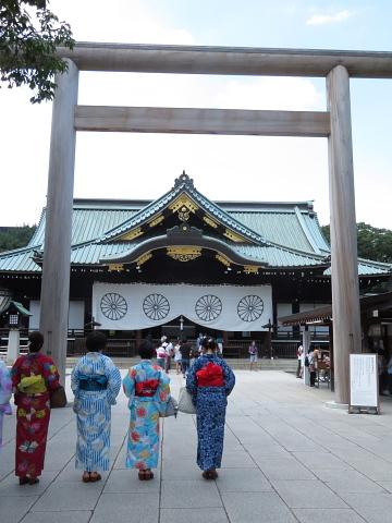 衣服は人生の設計図。靖国神社~銀座~横浜、歩コムの2日間。_d0046025_00401978.jpg