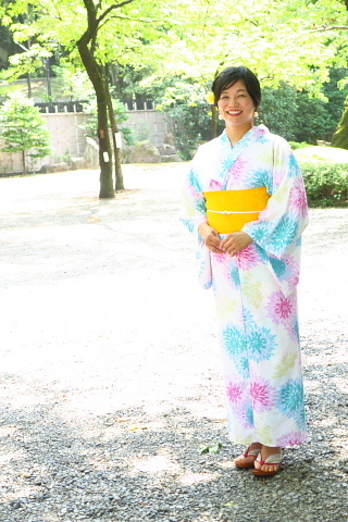 衣服は人生の設計図。靖国神社~銀座~横浜、歩コムの2日間。_d0046025_12050215.jpg