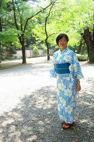 衣服は人生の設計図。靖国神社~銀座~横浜、歩コムの2日間。_d0046025_12083745.jpg