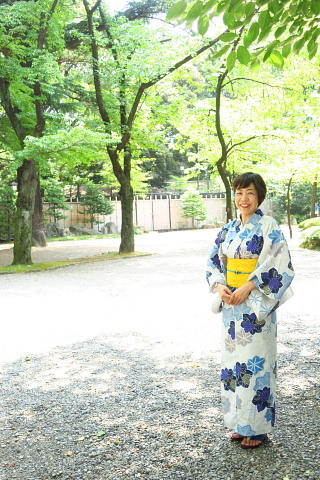 衣服は人生の設計図。靖国神社~銀座~横浜、歩コムの2日間。_d0046025_12091741.jpg