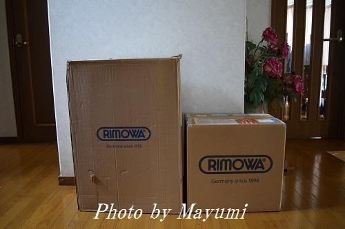 リモワのスーツケース♪ - ローマより愛をこめて