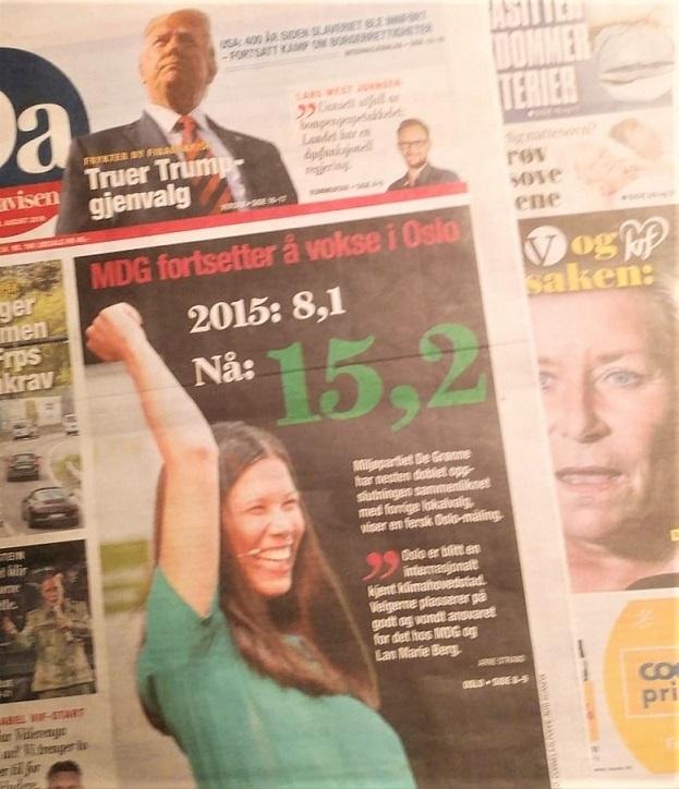 首都決戦 選挙キャンペーン(ノルウェー)_c0166264_08414138.jpg