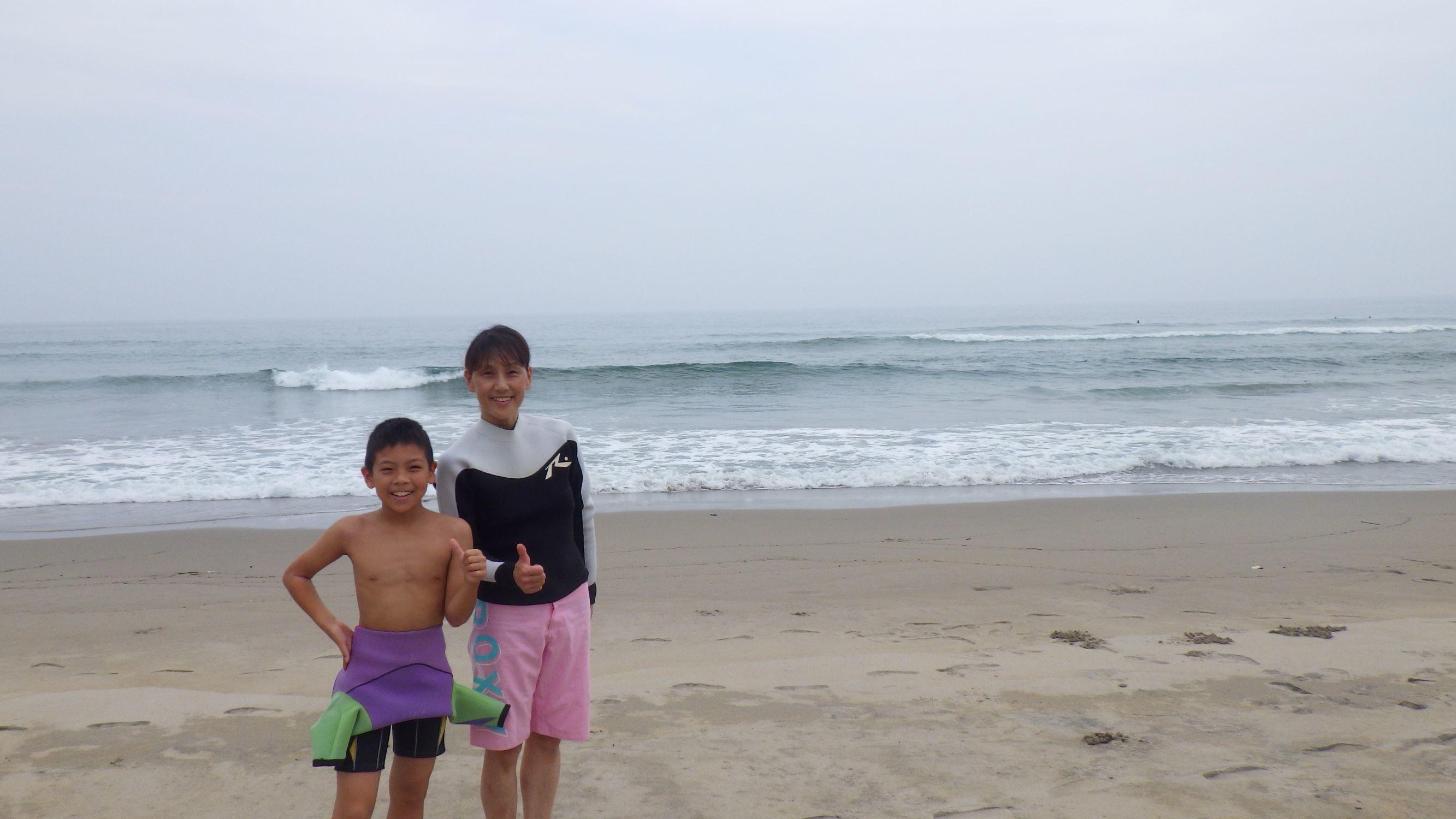 お母さんと一緒にサーフィンを楽しもう_f0009169_07365953.jpg