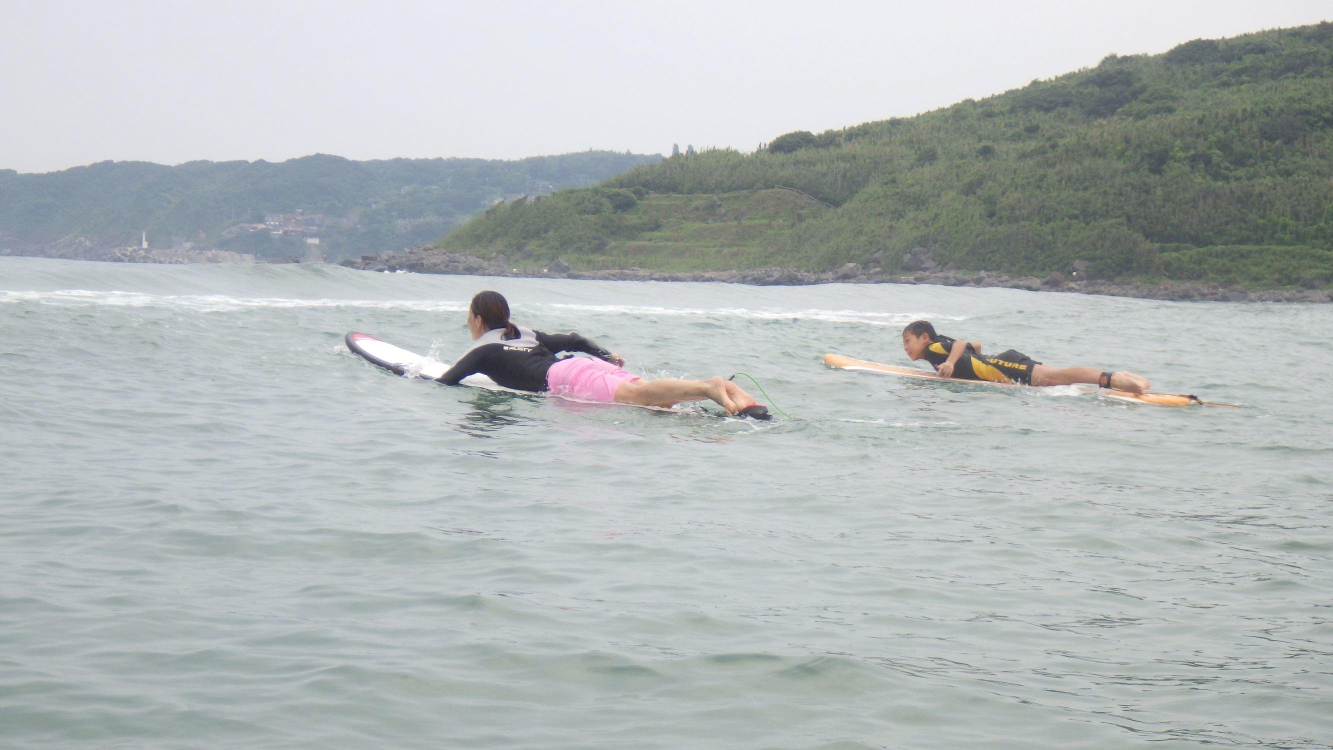 お母さんと一緒にサーフィンを楽しもう_f0009169_07371726.jpg