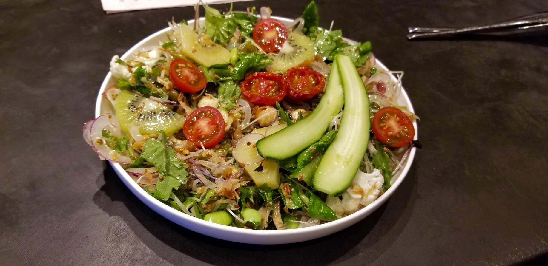 あのお店で食べたサラダを真似て、サラダコレクション_a0223786_09593448.jpg