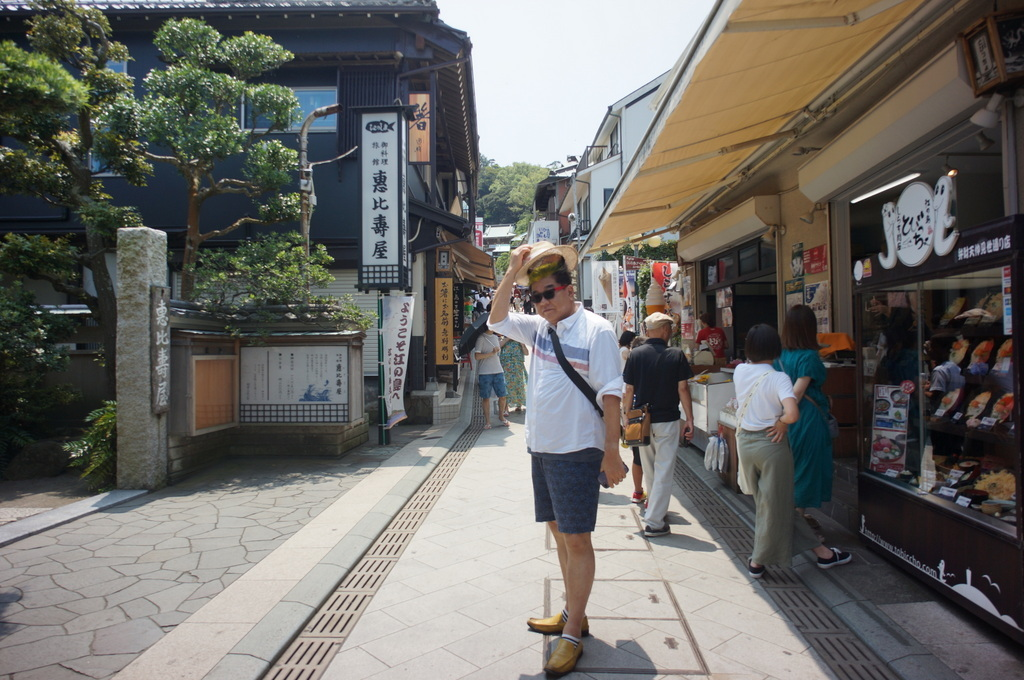 昼前から江ノ島へ 7/30 偶然の再会!_c0180686_01380649.jpg