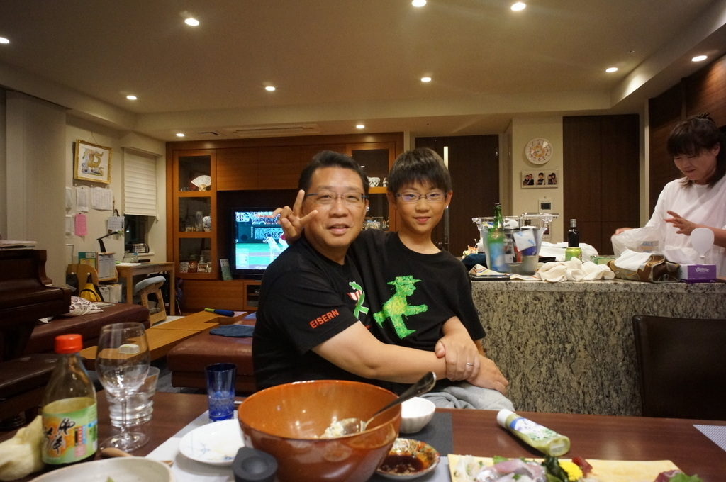 成澤文京区長邸にて。_c0180686_04153749.jpg