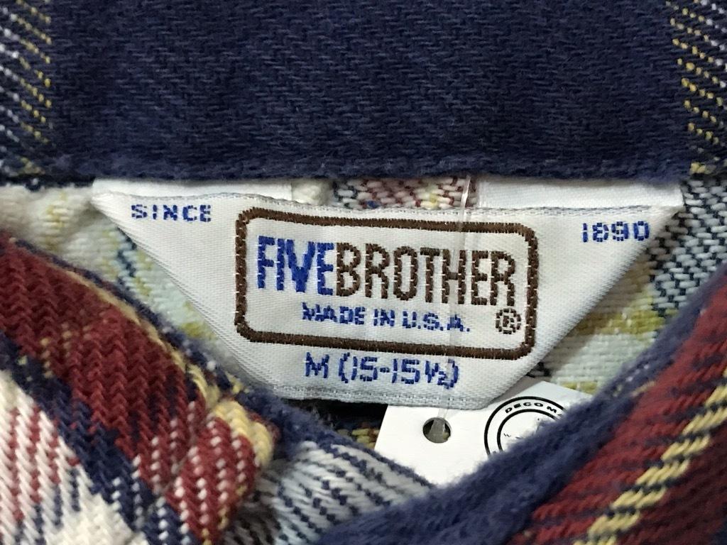 マグネッツ神戸店 8/24(土)Superior入荷! #2 Flannel Shirt!!!_c0078587_14362561.jpg