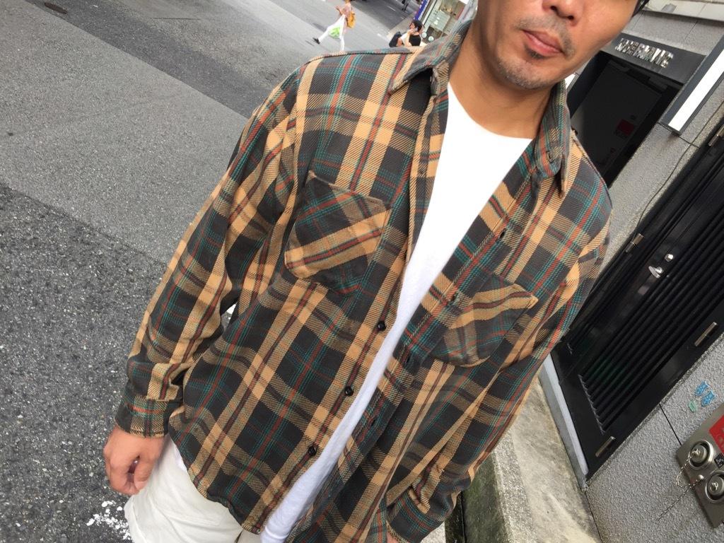 マグネッツ神戸店 8/24(土)Superior入荷! #2 Flannel Shirt!!!_c0078587_20222572.jpg