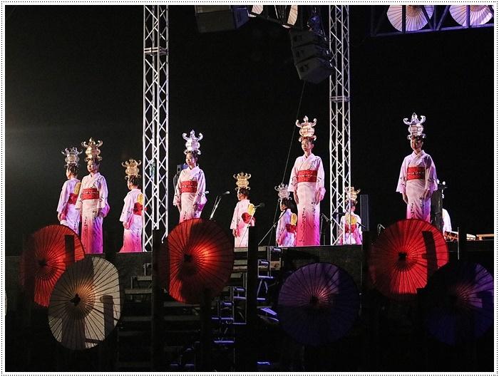 山鹿灯籠まつりの千人燈籠踊り、出かけて良かった、見られてよかった\(>∀<)/_b0175688_21485698.jpg