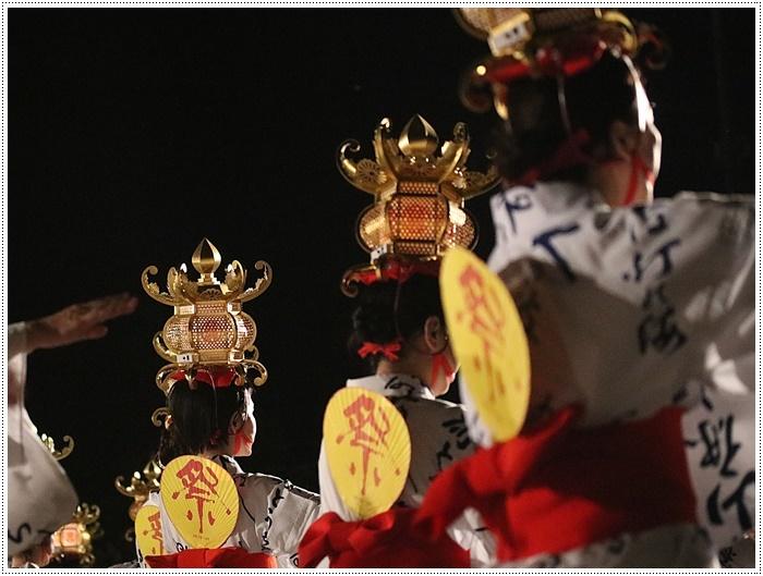 山鹿灯籠まつりの千人燈籠踊り、出かけて良かった、見られてよかった\(>∀<)/_b0175688_21500524.jpg
