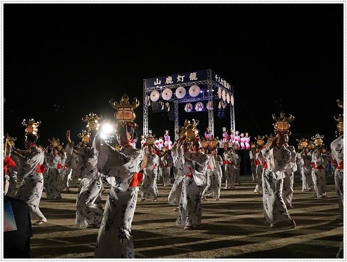 山鹿灯籠まつりの千人燈籠踊り、出かけて良かった、見られてよかった\(>∀<)/_b0175688_21530875.jpg